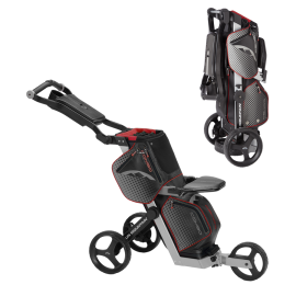 COMBO Cart - Black/Silver/Red