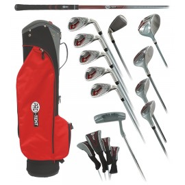 Pro-Tekt Ladies GRAPHITE Golf Set with Cart Bag