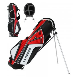Go Junior Stand Bag - 66cms - Black / Red