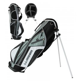 Go Junior Stand Bag - 76cms - Black / Grey