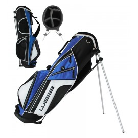 Go Junior Stand Bag - 76cms - Black / Royal