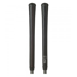 Signature Leather Swinger Grips - Black
