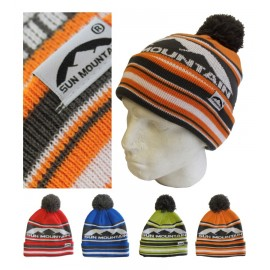Sun Mountain Bobble hats - Pack of 12