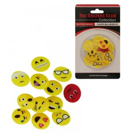 Plastic Ball Markers with graphics