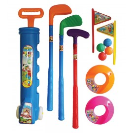 Kiddies Plastic Golf Set