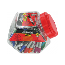 Tub of 'Sharpie' Mini Markers (x72)