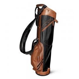 Leather Sunday Bag - Black / Tan