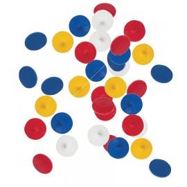 Plastic Ball Markers - Bulk pack of 1000