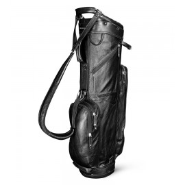 Leather Cart Bag - Black