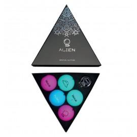 Volvik VIVID Alien Pack (5 balls + ball marker)
