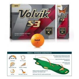 Volvik S3 Dozen Golf Balls