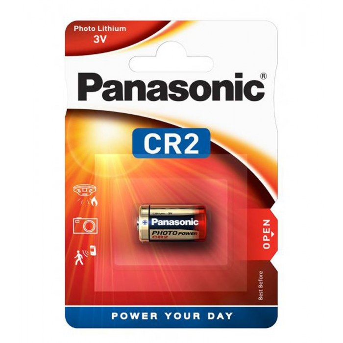 Panasonic CR2 Battery - LASER RANGE FINDER - Single Pack