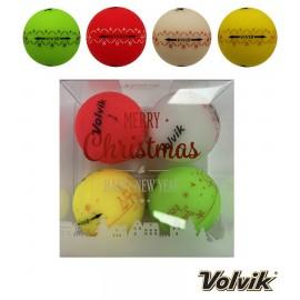 Volvik VIVID Christmas Pack (4 balls)