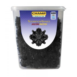Champ Scorpion Cleats - Bowl of 400 Slim Lok